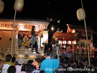 秋祭り2001 2