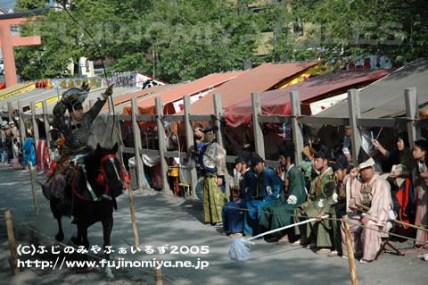 やぶさめ祭り2005 連写2-1